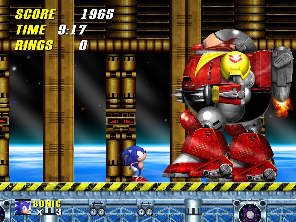 Sonic vs Robotnik